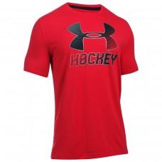 Under Armour Hockey Logo Sr SS Tee Shirt