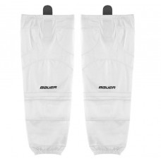 Bauer Premium Mesh Sr Hockey Socks Black-White