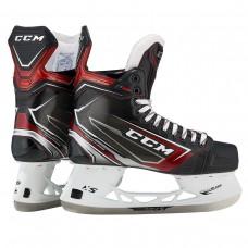 CCM JetSpeed FT480 Sr Ice Hockey Skates | Black Steel | 8.5 D